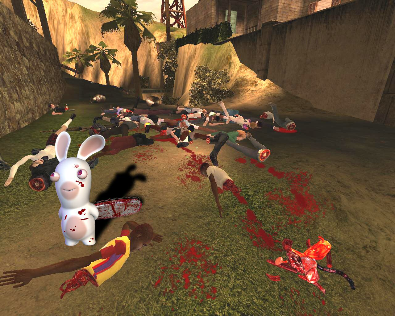 L'invasion des cretins .... Tenia_lapin_carnage